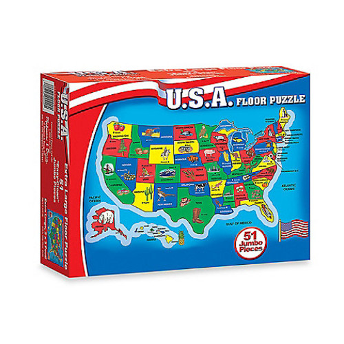 Melissa & Doug USA Floor Puzzle
