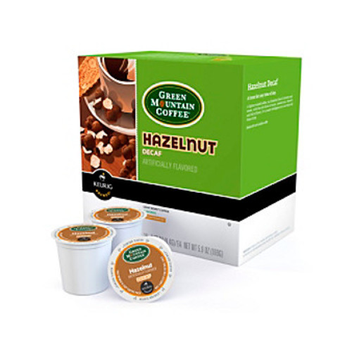 Keurig Green Mountain Coffee Hazelnut Decaf 18-pk. K-Cup Portion Pack