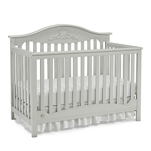Fisher-Price Mia 4-in-1 Crib in Misty Grey