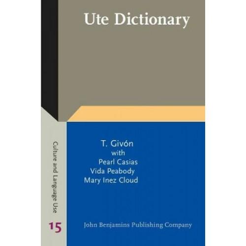 Ute Dictionary (Paperback)
