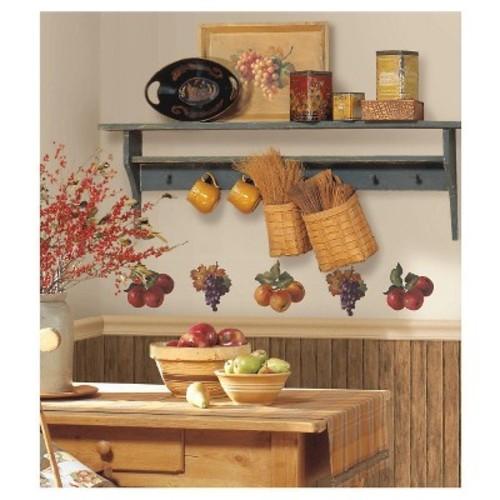 RoomMates Fruit Harvest Peel & Stick Wall Decals