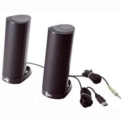 Dell AX210 Black USB Stereo Speaker System