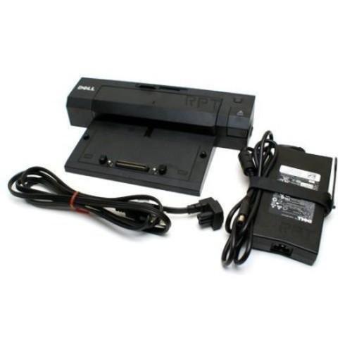 Dell-imsourcing E-port Docking Station - For Notebook - Usb - 5 X Usb Ports - 5 X Usb 2.0 - Network [rj-45] - Dvi - Vga - Displayport - Audio Line Out - Esata - Microphone (pr02x)