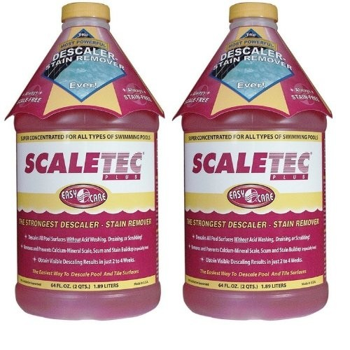 EasyCare Scaletec Plus Descaler and Stain Remover 64 oz - 20064 - 2 PACK