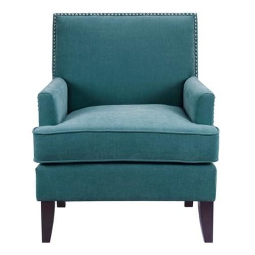 Robin Track Arm Club Chair - Blue