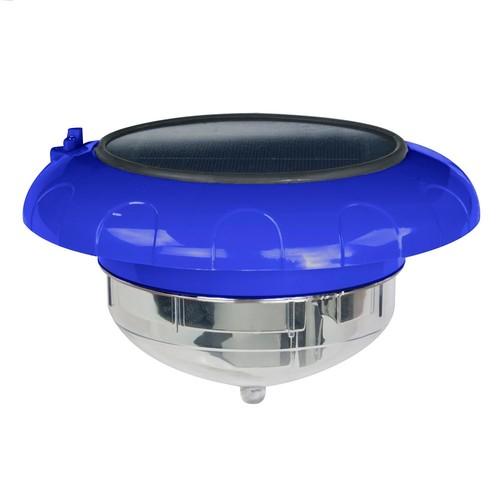Blue Wave Products Evolution Floating LED Solar Pool Light - Blue
