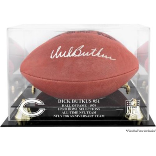 Mounted Memories NFL Hall of Fame Classic Football Logo Display Case; Dick Butkus Hall of Fame 1979