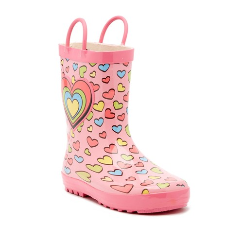 Hearts Rain Boot (Little Kid)