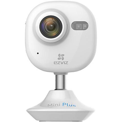 EZVIZ Mini Plus HD 1080p Wi-Fi Video Security Camera, Smart Home Enabled using IFTTT - White