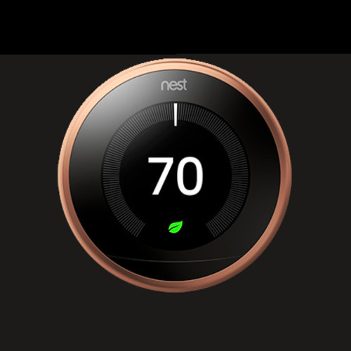 Learning Thermostat (3rd Generation, Copper)