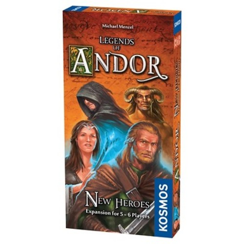 Kosmos Legends of Andor New Heroes Board Game