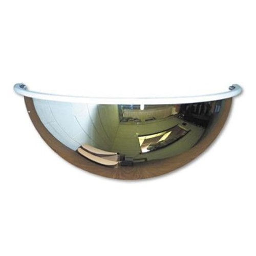 See-All Industries Half-Dome Convex Security Mirror SEEPV26180