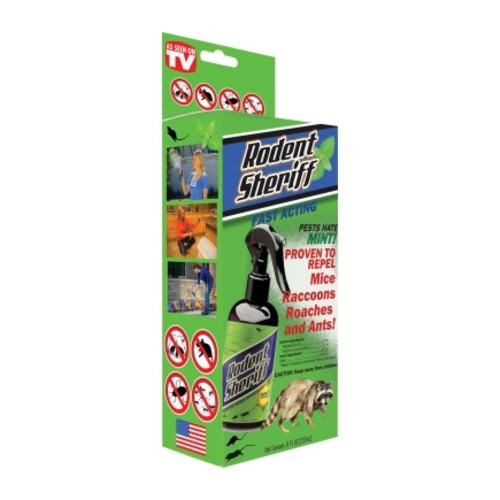Rodent Sheriff Animal Repellent Liquid 8 oz.