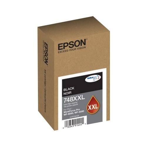 Epson - 748XXL, Extra High Yield Ink Cartridge - Black