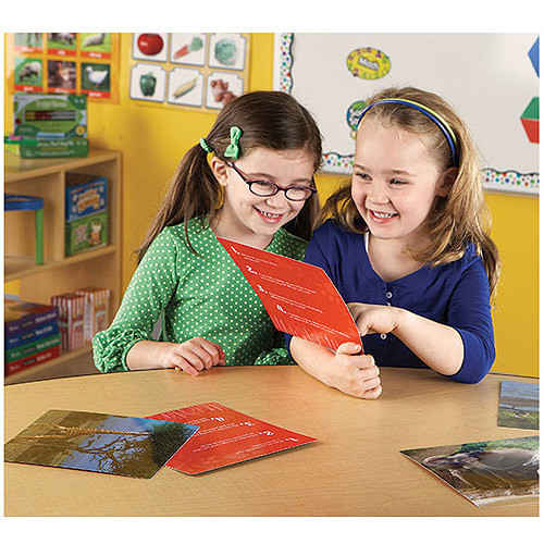Learning Resources Wild About Animals Snapshots, Critical Thinking Photo Cards