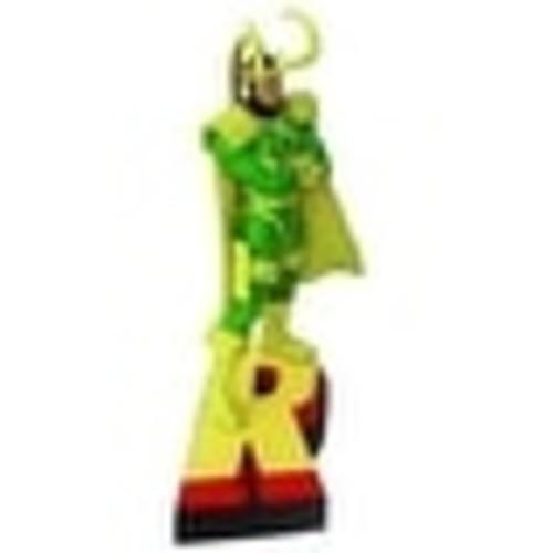 Marvel Avengers Loki Letter Figure