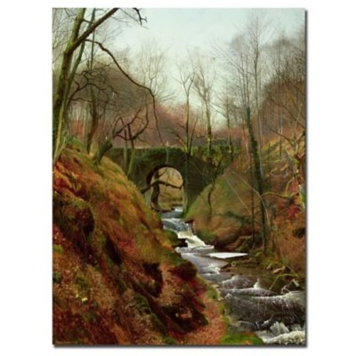 Trademark Fine Art John Grimshaw 'March Morning' Canvas Art Ready to Hang 24x32 Inches