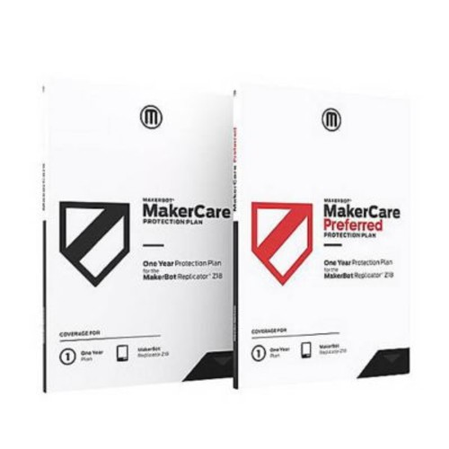 MarkerBot MakerCare Preferred Protection Plan Extended Service Agreement for Replicator MINI (MP07022)