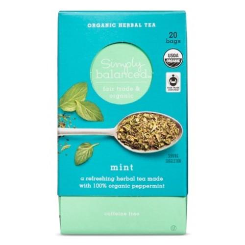 Tea Bags And Pods - Simply Balanced