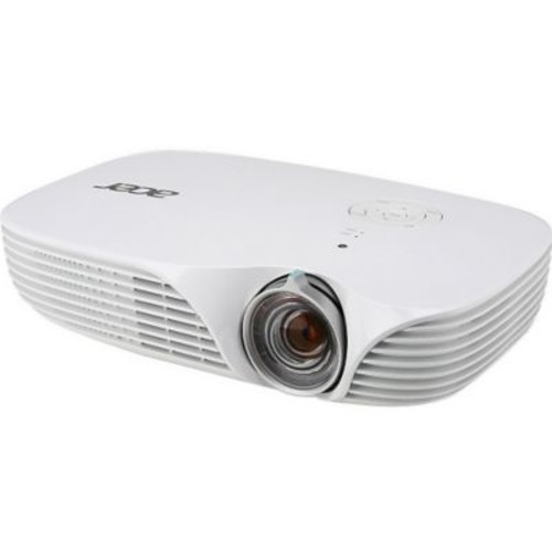 Acer MR.JLH11.00A 800 Lumens WXGA 3D Ready DLP Projector, White