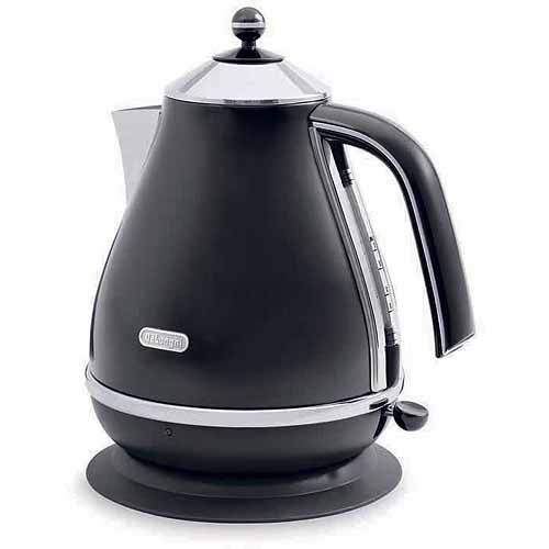 DeLonghi - 1.7L Electric Kettle - Black