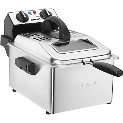 Stainless Steel Cuisinart Electric Deep Fryer