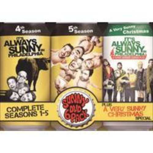 It's Always Sunny in Philadelphia: Complete Seasons 1-5 Plus A Very Sunny Christmas Special