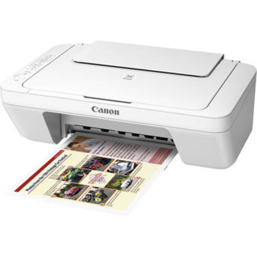 PIXMA MG3020 Wireless All-in-One Inkjet Printer (White)