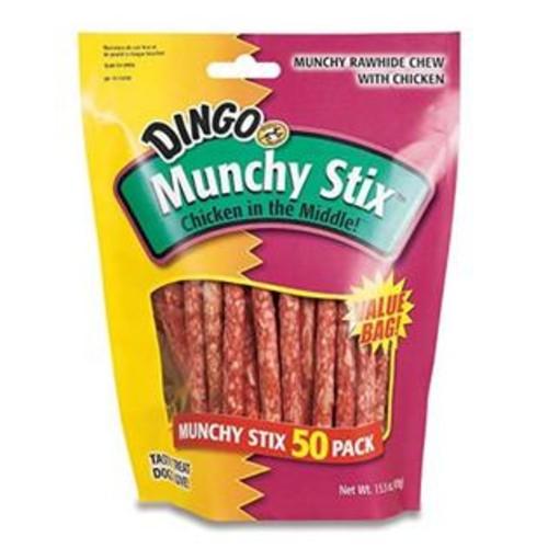 Design With Prestige LLC Dingo 50 Pack Chicken Munchy Stix