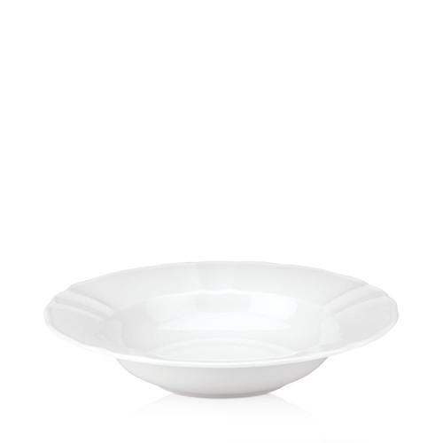 White Porcelain Deep Plate