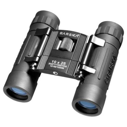 Barska - Lucid View 10 x 25 Compact Binoculars - Black
