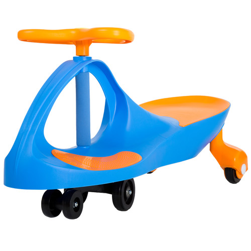Lil' Rider Wiggle Car Ride-On - Blue and Orange