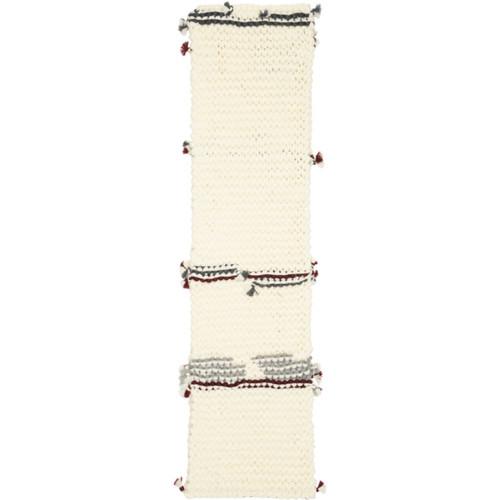 PRADA Off-White Wool Scarf