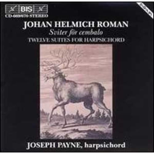 Roman: 12 Suites for Harpsichord By Joseph Payne (Audio CD)