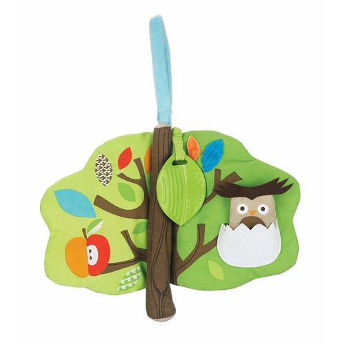 Skip Hop Baby Treetop Friends Soft Activity Book, Multi