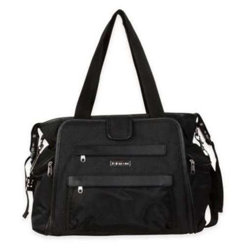 Kalencom Nola Tote Diaper Bag in Black