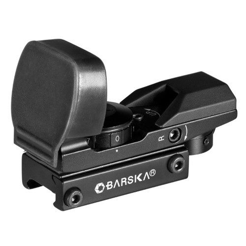 BARSKA ELECTRO SIGHT Multi-Reticle - Riflescope 1 x IR - Matte black