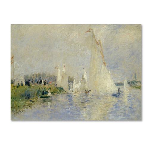 Trademark Global Pierre Renoir 'Regatta at Argenteuil 1874' Canvas Art