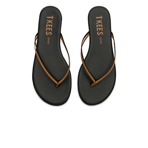 TKEES Duos Sandal in Brownie