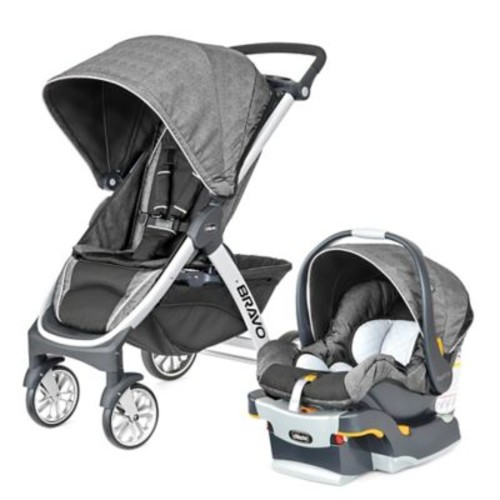 Chicco Bravo Trio Travel System in Avena