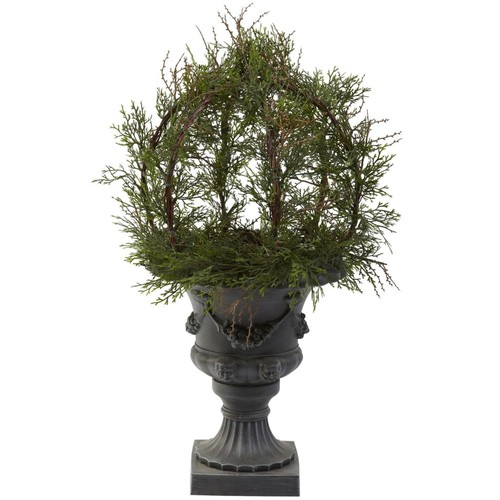 Nearly Natural 4956 Pond Cypress Plant in Pot
