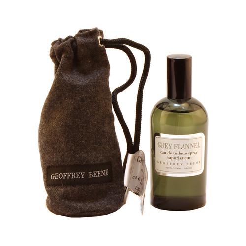 Geoffrey Beene Grey Flannel for Men Eau de Toilette Spray, 4 oz./ 118 mL