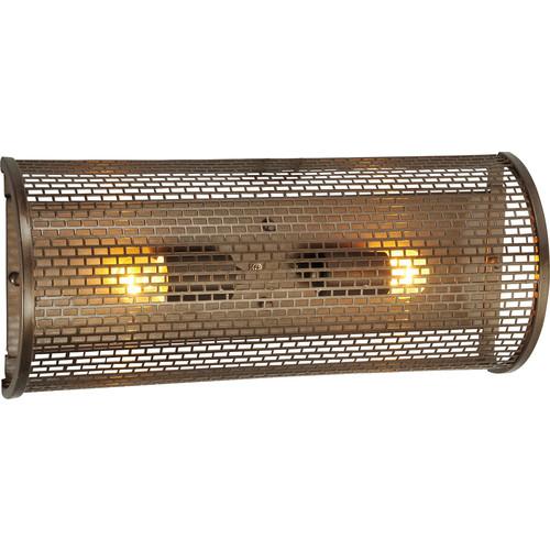 Lit-Mesh Test Vanity Light [Type : 231B02NB - Two Light]