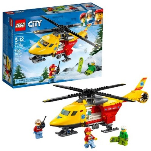 LEGO City Great Vehicles Ambulance Helicopter 60179