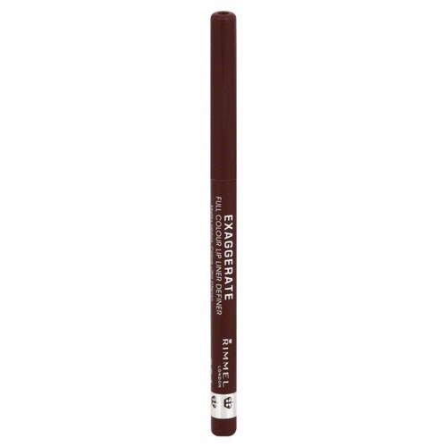 Rimmel Exaggerate Lip Liner, Definer, Full Colour, Obsession 064, 0.008 oz (0.25 g)