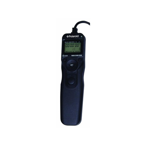 Polaroid Shutter Release Timer Remote Control For For The Canon Digital EOS Rebel T4i (650D), T3 (1100D), T3i (600D), T1i (500D), T2i (550D), XSI (450D), XS (1000D), XTI (400D), XT (350D), 60D, G12, G