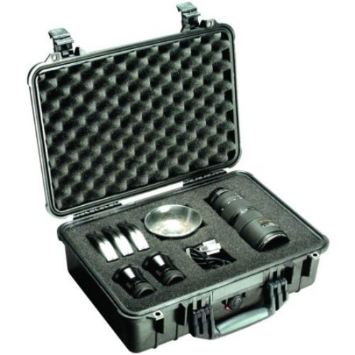Pelican 1500-004-110 Case With Padded Divider (1500004110)