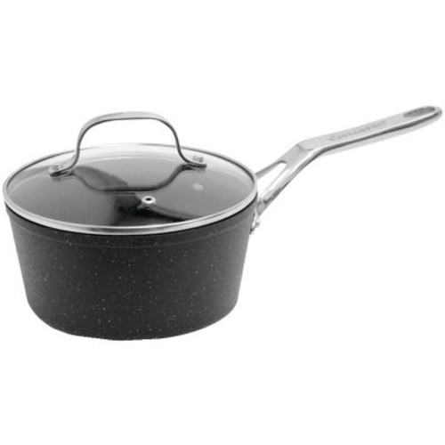 Starfrit The Rock Saucepan With Glass Lid (2-quart)