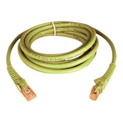 Tripp Lite N201-007-YW 7' CAT-6 Patch Cable, Yellow