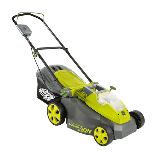 Sun Joe iON16LM iON 40-Volt Cordless 16-Inch Lawn Mower with Brushless Motor
